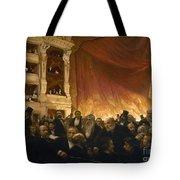 Paris: Comedie Francais Tote Bag