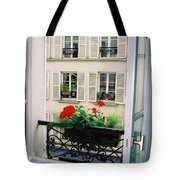 Paris Day Windowbox Tote Bag