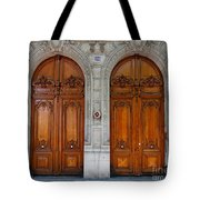 Paris Doors Tote Bag