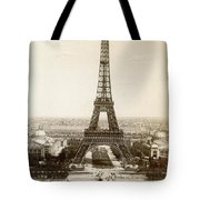 Paris: Eiffel Tower, 1900 Tote Bag