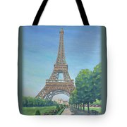 Paris Eiffel Tower Tote Bag
