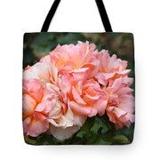 Paris Garden Roses Tote Bag