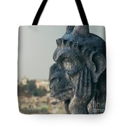 Gargoyle Of Paris Tote Bag