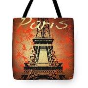 Paris In The Fall  Tote Bag