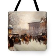 Paris In Winter Tote Bag