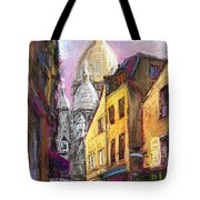 Paris Montmartre 2 Tote Bag by Yuriy  Shevchuk