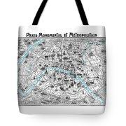 Paris Monumental Tote Bag