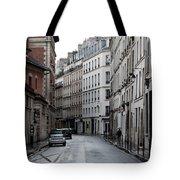 Paris Neighborhood Marais - No Right Turn 1 Tote Bag