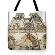 Paris Notre Dame Tote Bag