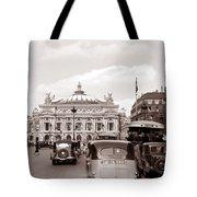 Paris Opera 1935 Sepia Tote Bag
