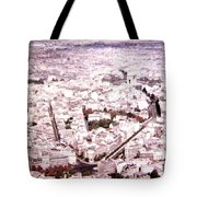 Paris Panorama 1955  Tote Bag