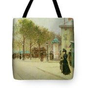 Paris Tote Bag by Paul Cornoyer