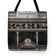 Paris Pool Hall Tote Bag
