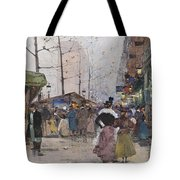 Paris Porte Saint Denis Tote Bag