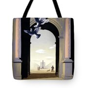Paris Poster Tote Bag