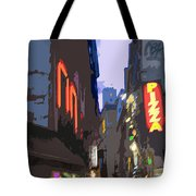 Paris Quartier Latin 01  Tote Bag by Yuriy  Shevchuk
