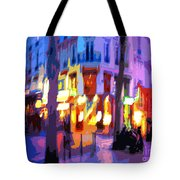 Paris Quartier Latin 02 Tote Bag
