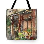 Paris Restaurant 5 - By Diana Van Tote Bag