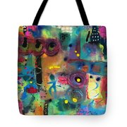 Paris Rush Hour Tote Bag
