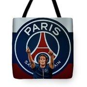 Paris Saint Germain Painting Tote Bag