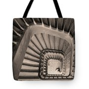 Paris Staircase - Sepia Tote Bag