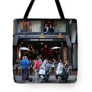 Paris Street Life 4 Tote Bag