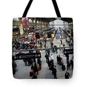Paris Train Station Tote Bag