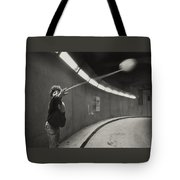 Paris Underground Yoyo Tote Bag