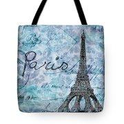 Paris - V01t01a Tote Bag