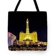 Paris Vegas Tote Bag