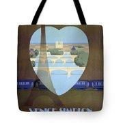 Paris Venice Railway, Orient Express Tote Bag