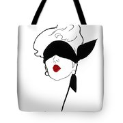Paris Vintage Fashion Tote Bag