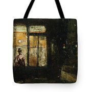 Parisian Boulevard At Night Tote Bag