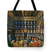 Parisian Pharmacy, 1624 Tote Bag