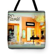 Parisian Salon Tote Bag