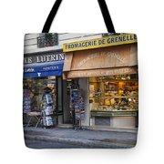 Parisian Shops Tote Bag