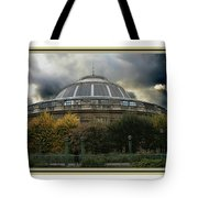Parisian Spaceship Tote Bag