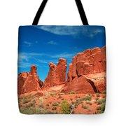 Park Avenue, Arches National Park Tote Bag