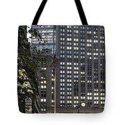 Park Avenue Met Life Nyc Tote Bag by Juergen Held