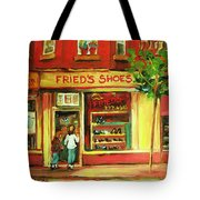 Park Avenue Shoe Store Tote Bag