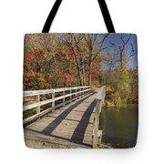 Park Bridge Autumn 2 Tote Bag