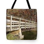 Park Bridge Autumn 3 Tote Bag
