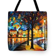 Park By The River Tote Bag