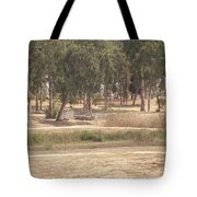 Park Near The Source Of The Yarkon River Tote Bag