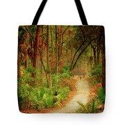 Park Path  Tote Bag