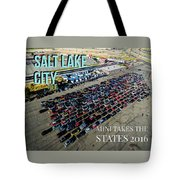 Park / Salt Lake City Rise/shine 1 W/text Tote Bag