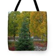 Park Trees Tote Bag