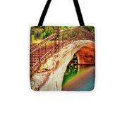 Park Walk Bridge Tote Bag