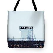 Parkade - Downtown Spokane Tote Bag