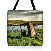 Parked By The Pond Tote Bag